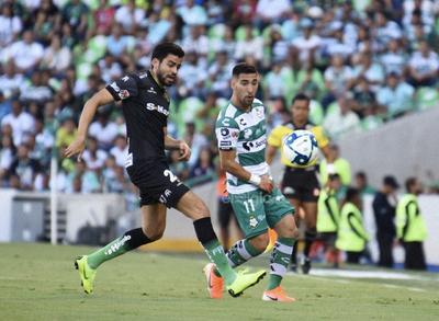 SANTOS LAG. VS JUÁREZ FC  SANTOS LAGUNA 2 JUÁREZ FC 0 SEGUNDO TIEMPO TORNEO DE APERTURA 2019