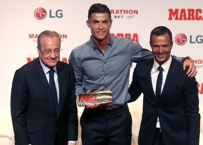 Cristiano recibe galardón como Leyenda del deporte