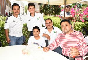 29072019 LA PASAN GENIAL.  Luis Duk, Sebastián, Lalo, Eduardo Santacruz y Osvaldo Aguilar.