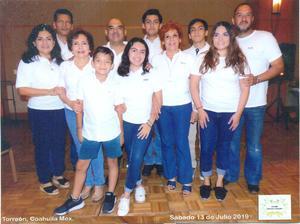 28072019 SE REúNEN.  Familia Guerrero de León en la reunión organizada por la Familia Guerrero González.