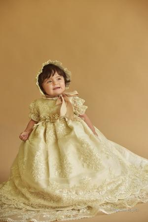 28072019 Isabella Vivas Rosas celebró su bautismo el seis de julio a la edad de 1 año, en todo momento estuvo en compañía de sus padres, Maribel Rosas Acosta y Mauricio Alexander Vivas Verástegui.- Maqueda Peques