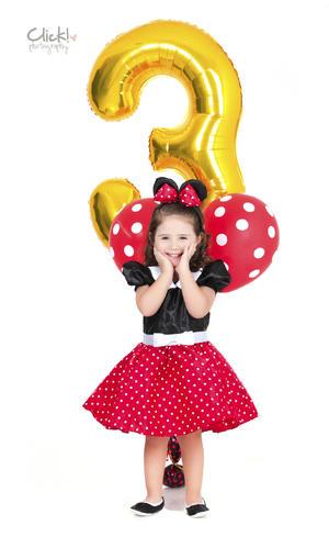 28072019 La bella Matilda en su cumpleaños número tres.- Click Photography