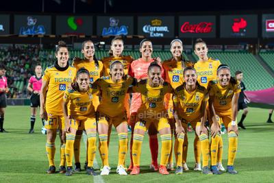 equipo Tigres  Santos vs Tigres  juego correspondiente a la jornada 3 de la apertura 2019 de la Liga MX femenil en TSM Oficial - Monday 29 de July de 2019 21:00h