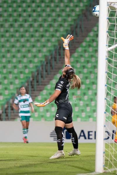 Wendy Toledo  Wendy Estefani Toledo Barroso #29 Portera Santos  Santos vs Tigres  juego correspondiente a la jornada 3 de la apertura 2019 de la Liga MX femenil en TSM Oficial - Monday 29 de July de 2019 21:00h