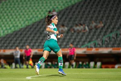 Ashly Martínez  Ashly Yoselin Martínez Carranza #26 Media Santos  Santos vs Tigres  juego correspondiente a la jornada 3 de la apertura 2019 de la Liga MX femenil en TSM Oficial - Monday 29 de July de 2019 21:00h