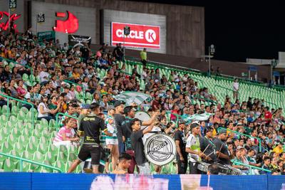afición  Santos vs Tigres  juego correspondiente a la jornada 3 de la apertura 2019 de la Liga MX femenil en TSM Oficial - Monday 29 de July de 2019 21:00h