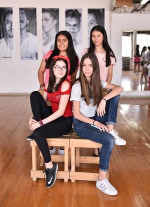 30072019 Bárbara, Danna, América y Karen.