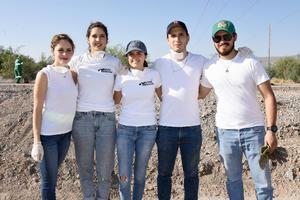 30072019 Vicky, Laura, Salma, Adolfo y Emiliano.