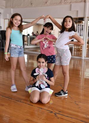 30072019 María José, Ángela, Fernanda y Dulce María.