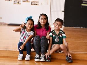 30072019 Layla, Valentina y Mauricio.