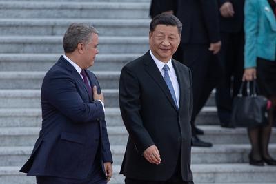Posteriormente, Xi y Duque tuvieron una reunión privada.