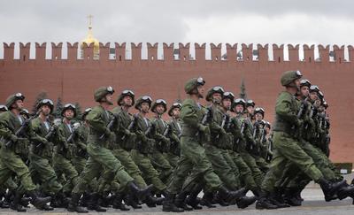 Se realizó un desfile militar.