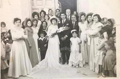 Boda de Rita Magallanes y Armando Miranda.