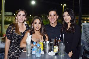 Mariana, Michel, Jorge y Ale