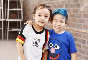 Ricky y Emiliano.