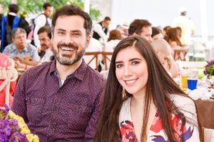 Alexandre Bouscal y Natalia Perez.
