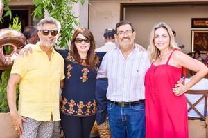 Gerardo, Noralys, Hector e Irma.