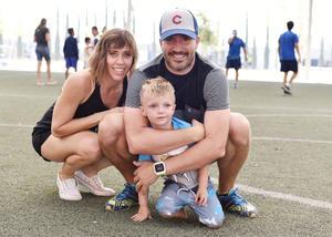 Gaby, Alejandro y Eugenio