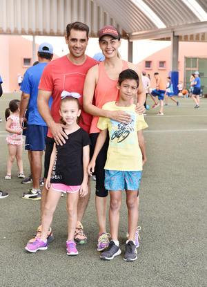Ricardo, Marien, Marcelo y Marile Siller