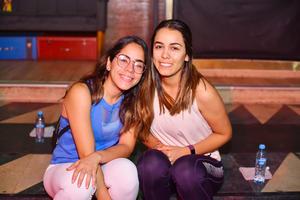 Marifer y Alejandra