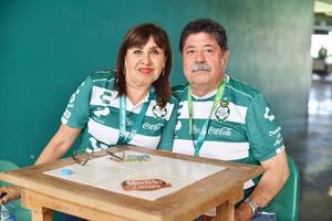 Juan José y Patricia