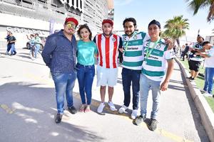 Sergio, Abril, Javier, Edgar y Jordi
