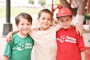 Jorge, Iván y Guillermo