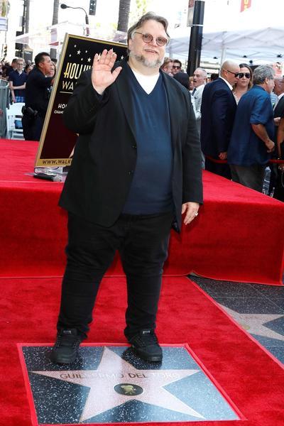 Guillermo del Toro recibe su estrella en el Paseo de la Fama