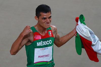 La medalla de oro que obtuvo fue la número 22 de la delegación mexicana.