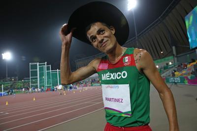 El de Santiago Papasquiaro conquistó los 5 mil metros planos con un crono de 13 minutos 53 segundos y 87 centésimas.