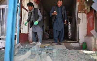 El atentado fue contra una estación de Policía.