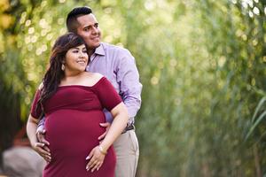 07082019 SERáN PAPáS.  Sinaí e Iván en espera de su primer bebé, que se llamará Frida Isabella.