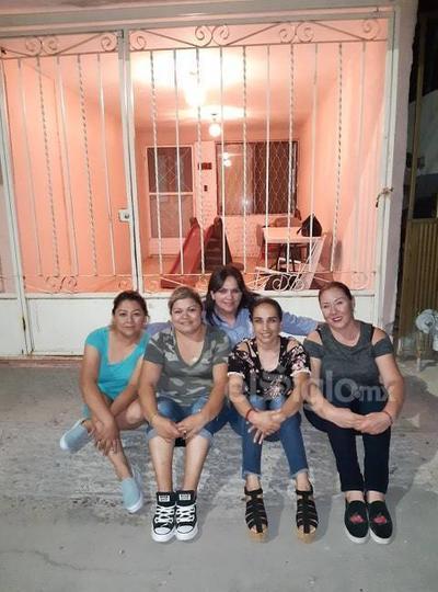 Ana, Karina, Diana, Estela y Kriselda