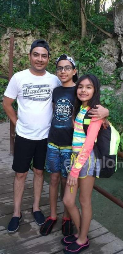 Marco, Emiliano y Ximena.
