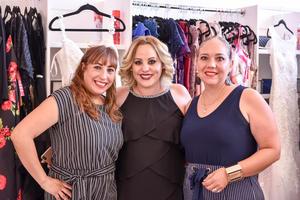 08082019 AMIGAS.  Mónica Ortiz, Lenika López y Paty Briceño.