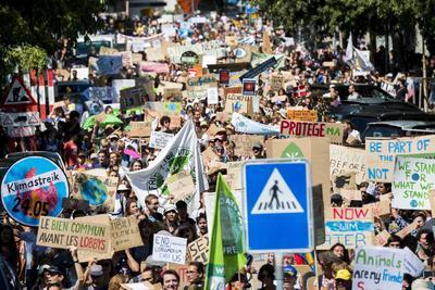 Cientos se unieron a protestas en su defensa.
