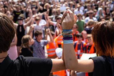 El movimiento se replicó a distintas ciudades del mundo.