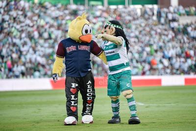 El pollo y el guerrero  Santos vs Puebla  juego correspondiente a la jornada 4 de la apertura 2019 de la Liga MX en TSM Oficial - domingo 11 de agosto de 2019 18:45h  Guerreros, Liga MX, Santos, Santos Laguna