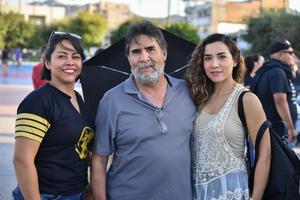 10082019 Raúl, Regina y Nisa.  Ixchel, Julio y Karla.