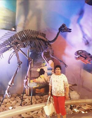 11082019 DE VACACIONES.  Lagunera visitando las bellezas de Coahuila, Museo del Desierto.