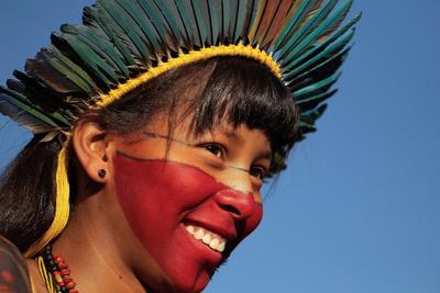 En el marco de la programación del evento, las mujeres tienen previsto este lunes una marcha hasta el Ministerio de Salud, donde realizarán un acto en defensa de la salud indígena.