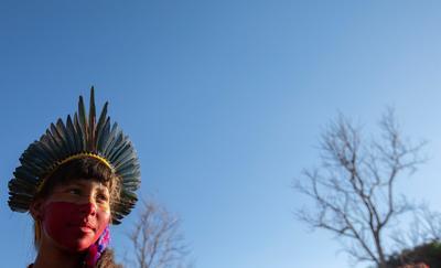 Indígenas brasileñas inician protestas con demandas en salud