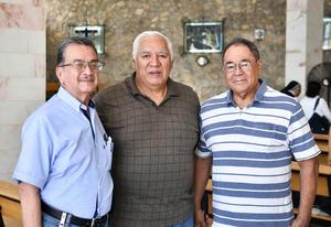 14082019 EN RECIENTE CONVIVIO.  Jesús, Luis y José.