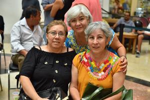 14082019 María Moreno, Irma Nolasco y Guadalupe Moreno.