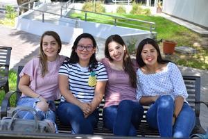 14082019 Isabel, Luisa, Natalia y Andrea.