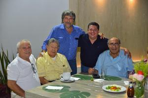 14082019 Jaime, Luis, Julián, Carlos y Ramón.