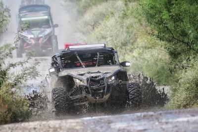 Viven fiesta deportiva con la carrera 'Coahuila 1000 Desert Rally'