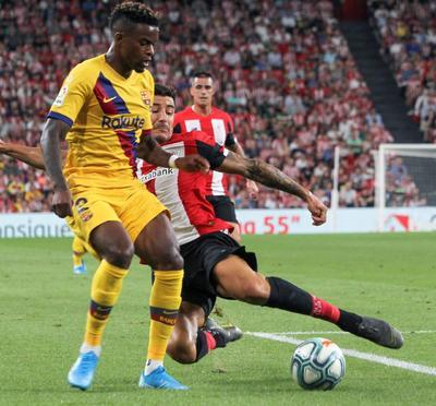 Athletic de Bilbao vence al Barcelona en el arranque de la Liga