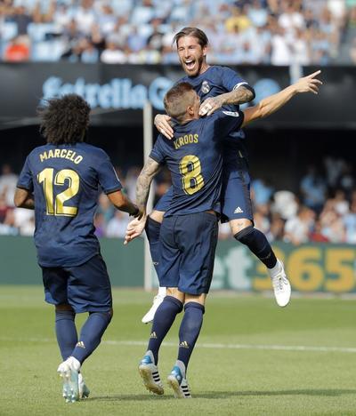 Real Madrid gana en su debut de LaLiga 2019/20