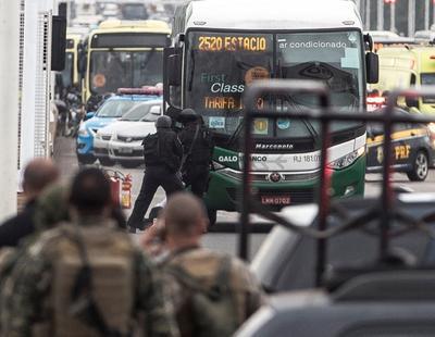 Brasil vivió un día de conmoción y angustia.